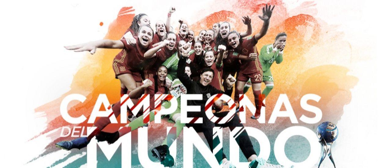 Tres catalanes campiones del món amb la Selecció Espanyola sub 17 femenina