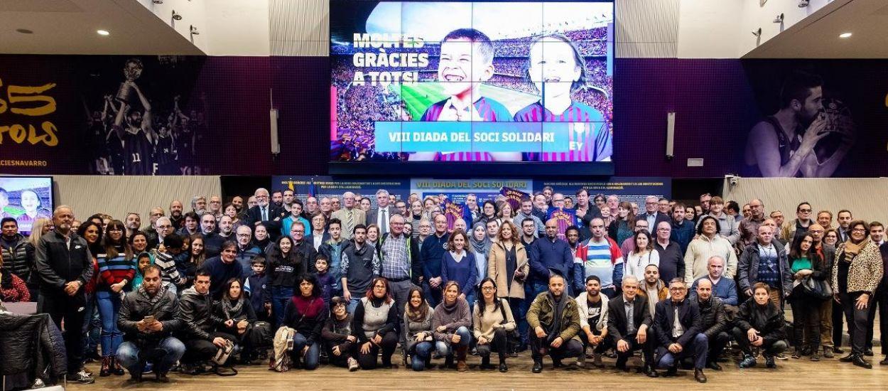 La Fundació Privada Catalana de Futbol col·labora en la VIII Diada del Soci Solidari