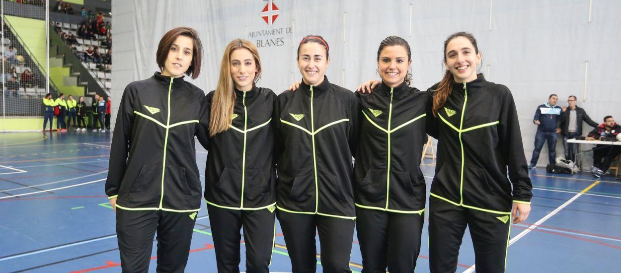 La figura arbitral femenina en els Campionats Comarcals de Futbol Sala
