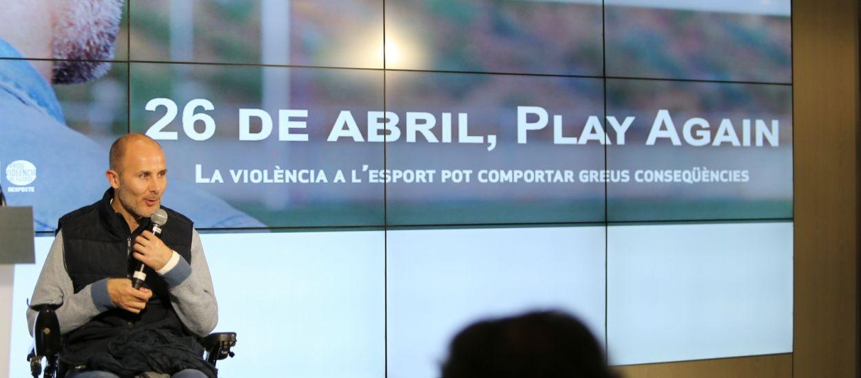 '26 de abril. Play Again', un documental de conscienciació social cap al bon comportament a l'esport