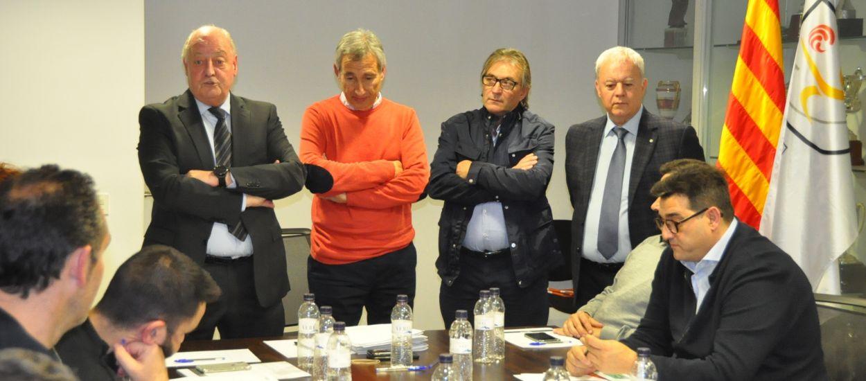 Primera reunió del Comitè Tècnic d'Entrenadors del nou mandat