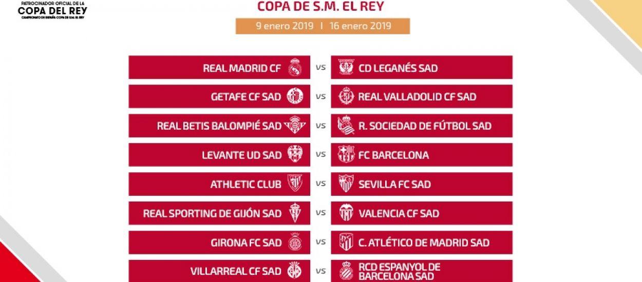 FCF   Sorteos de los octavos de final de la Copa del Rey y de los ...