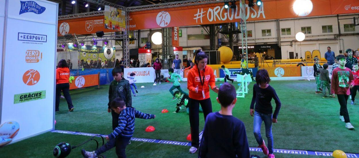 La FCF vuelve a participar en la segunda edición de La Ciutat dels Somnis con #Orgullosa