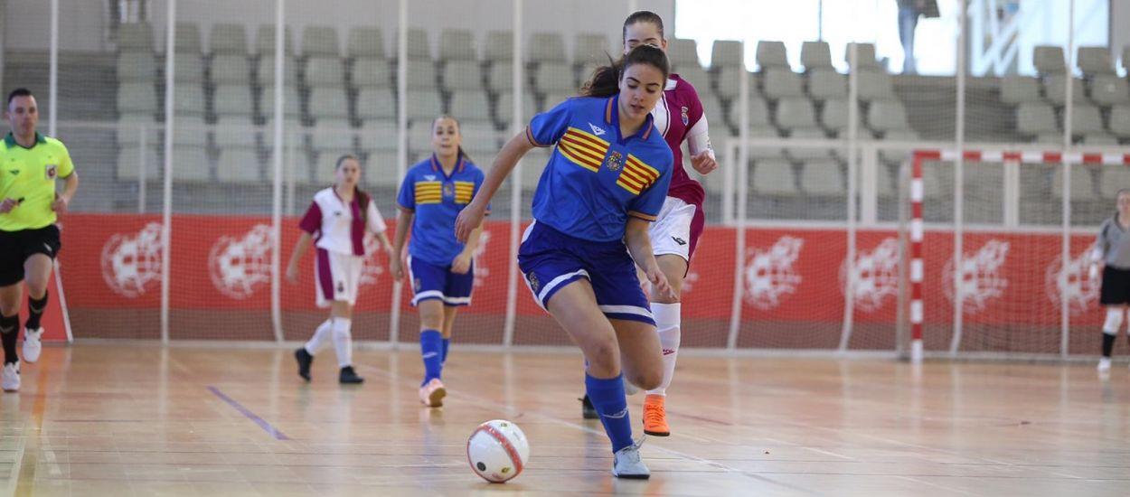 Aragó sub 17 s'adjudica els 3 primers punts del Campionat d'Espanya