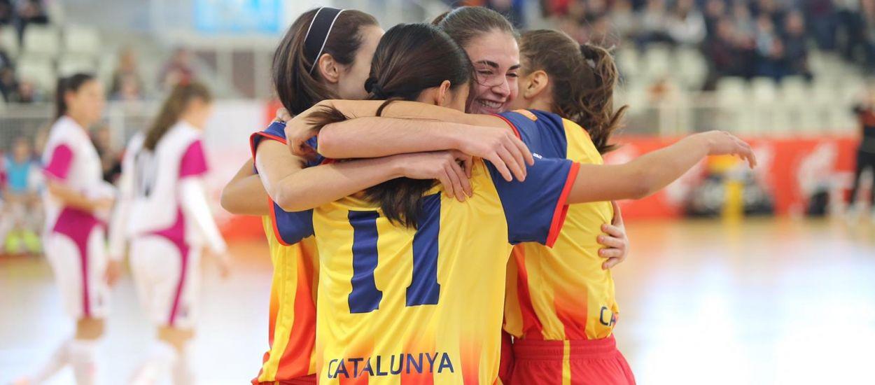 Catalunya sub 20 i sub 17 femenines entren en joc