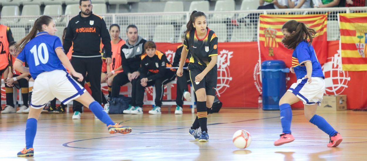 Catalunya sub 17 s'exhibeix per accedir a la Fase Final