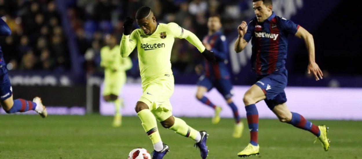 El Llevant deixa glaçat al Barça a la Copa del Rei