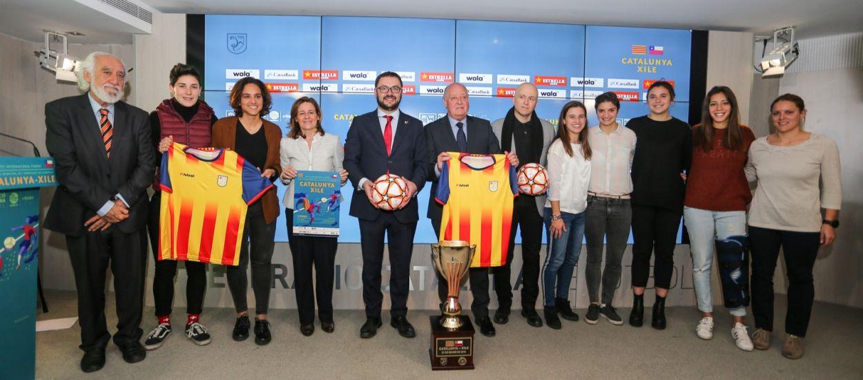 La llista de jugadores del Catalunya-Xile