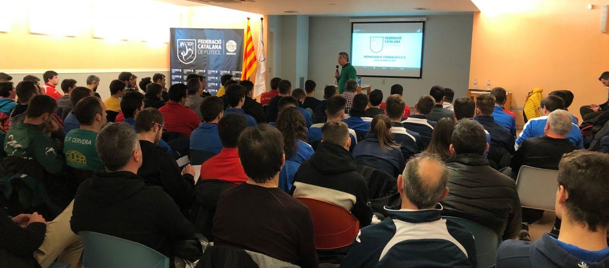La delegació de l'FCF a Lleida acull una Sessió formativa del CTE i l'Escola d'Entrenadors
