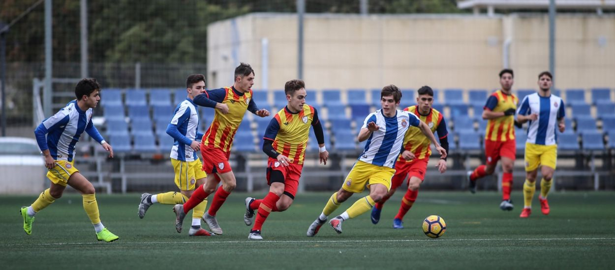 Catalunya i l'Espanyol empaten sense gols en un duel obert i disputat