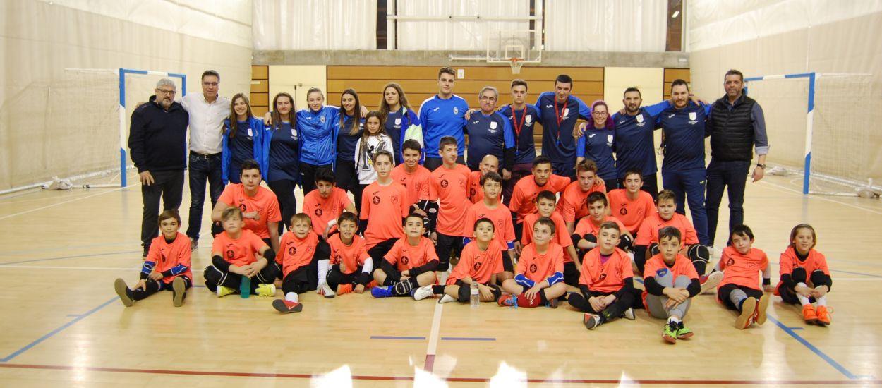 Èxit al primer desafiament de porters de futbol sala de Girona