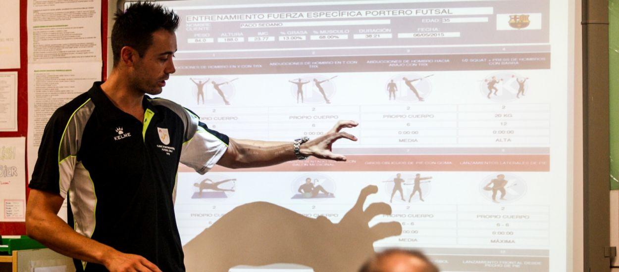 Paco Sedano impartirà un Curs d'Especialització en l'Entrenament de Porters de futbol sala