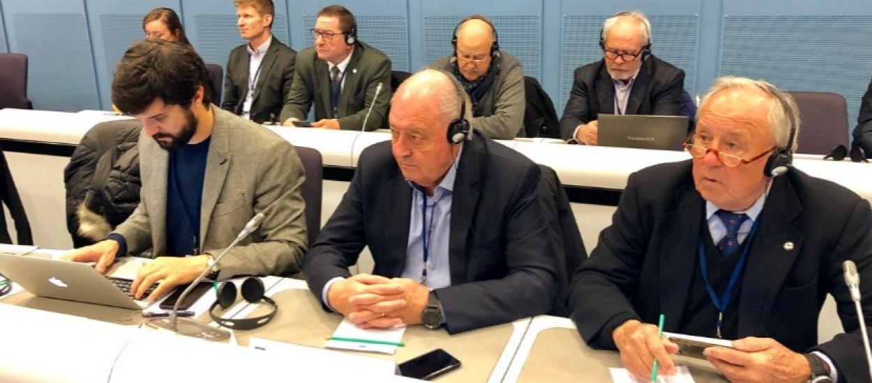 El president Soteras visita les institucions europees