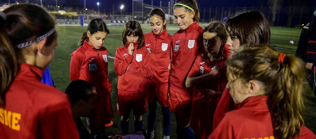 El Maresme viu un dels últims entrenaments de la Selecció sub 12 femenina