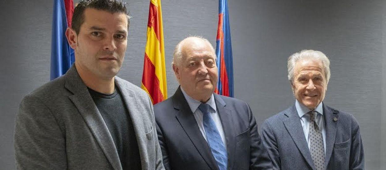 Trobada entre l'Agrupació Barça Jugadors i l'FCF