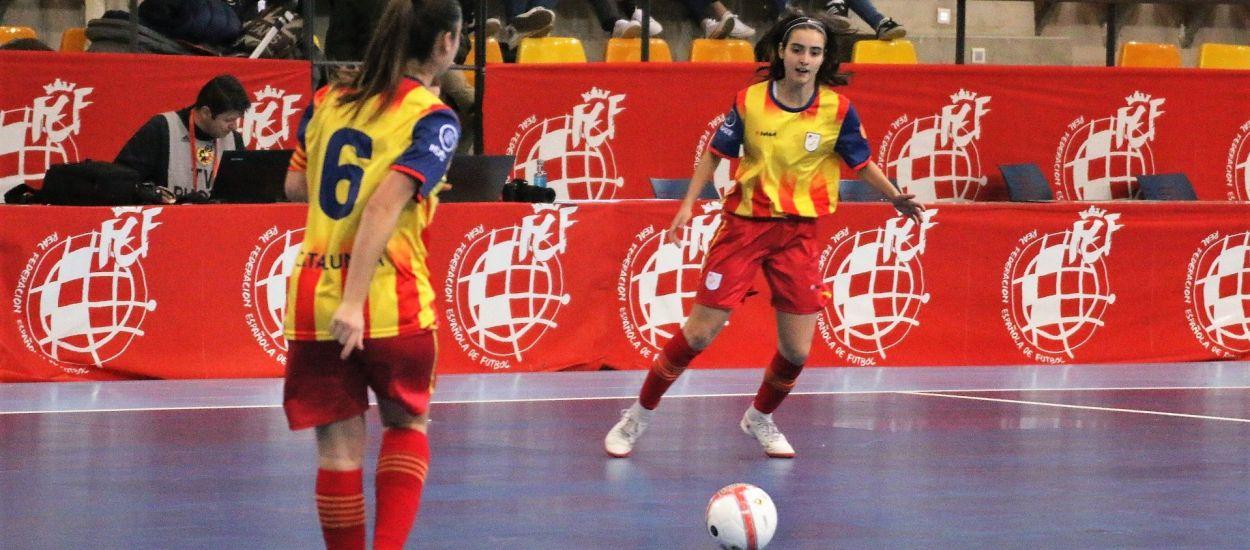 Catalunya sub 17 aconsegueix una classificació heroica per la final del Campionat d'Espanya