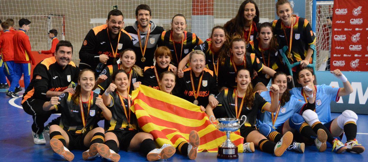 Catalunya sub 20 entra a l'olimp del futbol sala