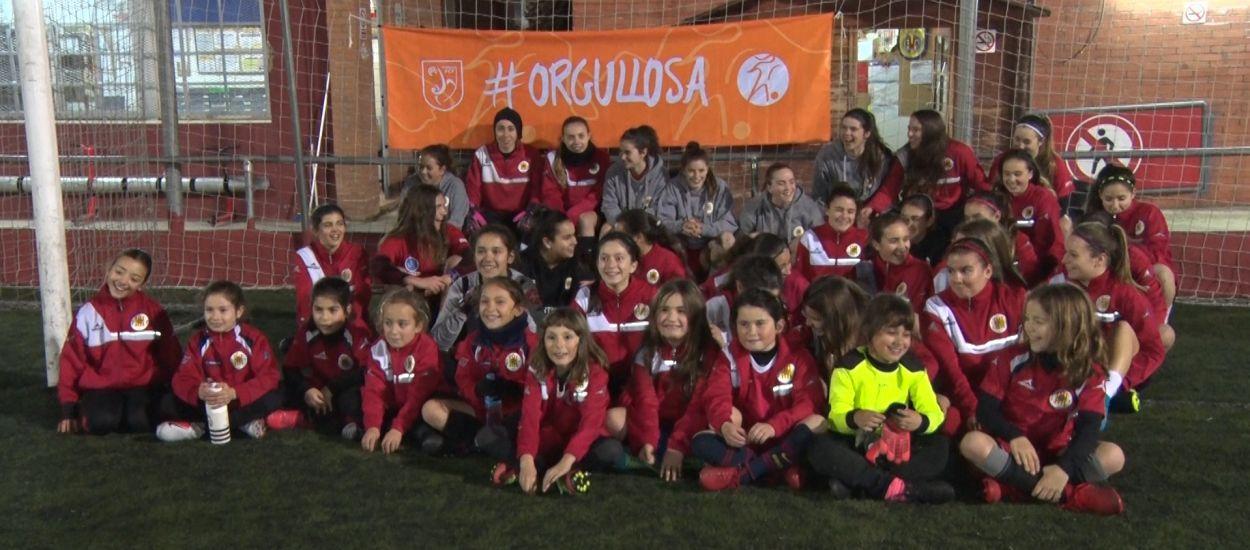 El CF Molins de Rei, 25 anys fomentant i promocionant el futbol femení
