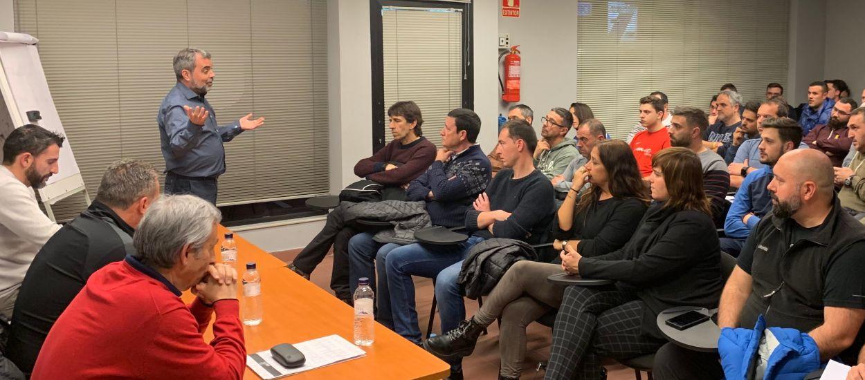 Celebrada una sessió formativa del CTE i l'Escola d'Entrenadors a Terres de l'Ebre