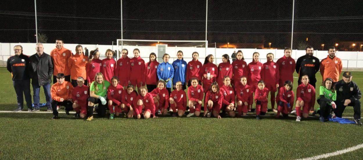 Entrenament de les seleccions sub 12 i sub15 femenines del Penedès-Garraf