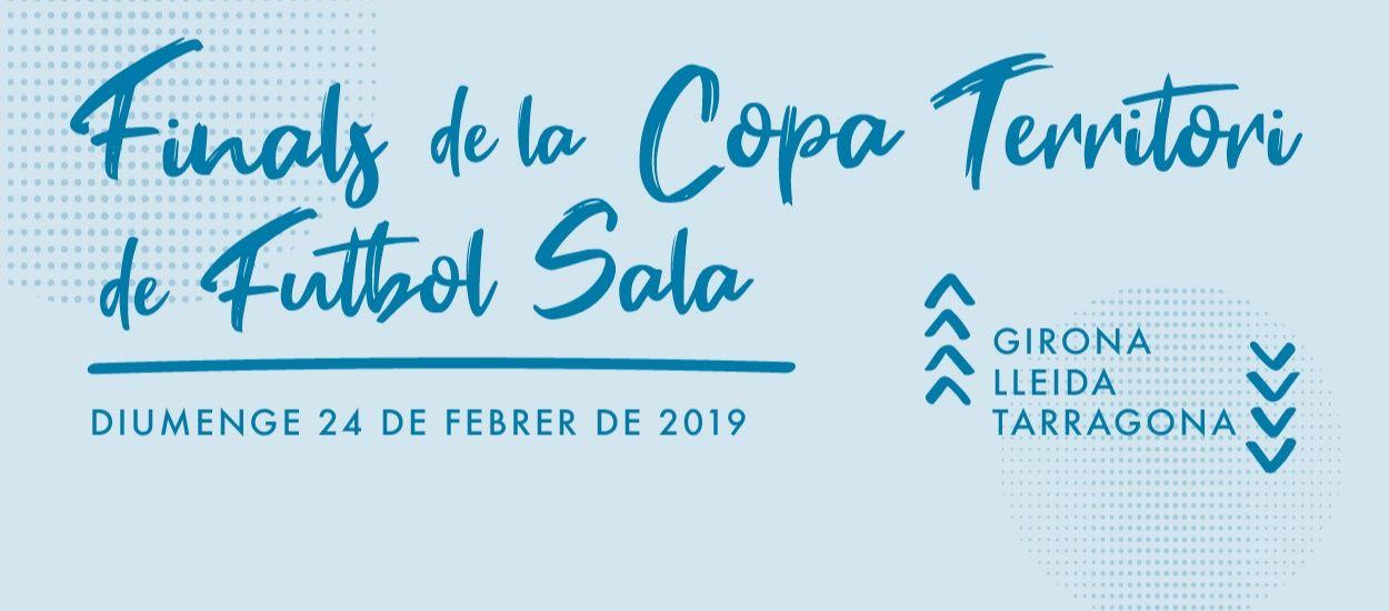 Girona, Lleida i Tarragona preparades per les finals de la Copa Territori