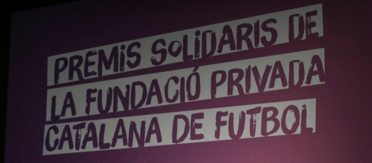 Els III Premis Solidaris de la Fundació de l'FCF