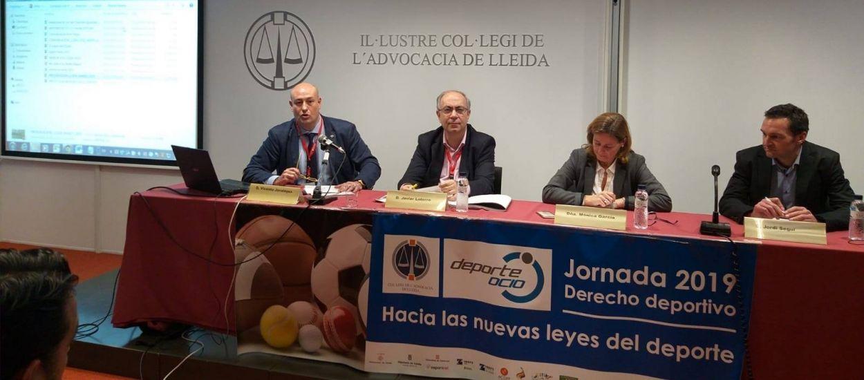 L'FCF participa a la Jornada sobre les noves lleis de l'esport celebrada a Lleida