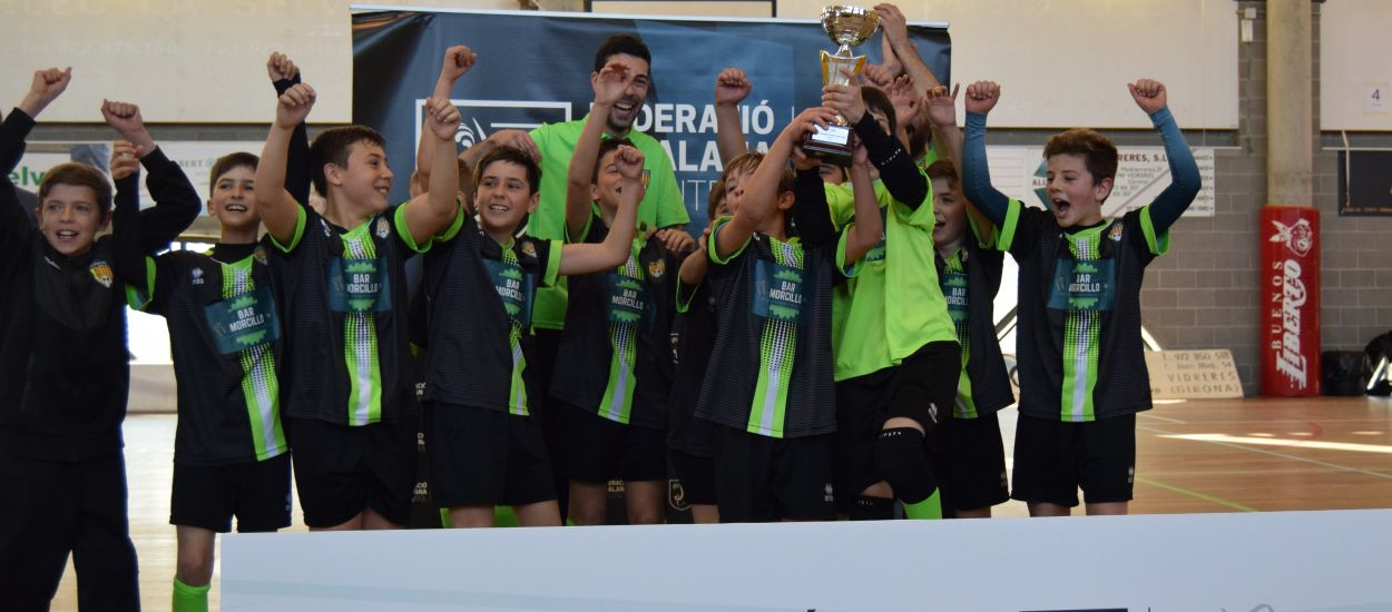 Les finals de la Copa Territori determinen els equips classificats per la Copa Catalunya de Futbol Sala