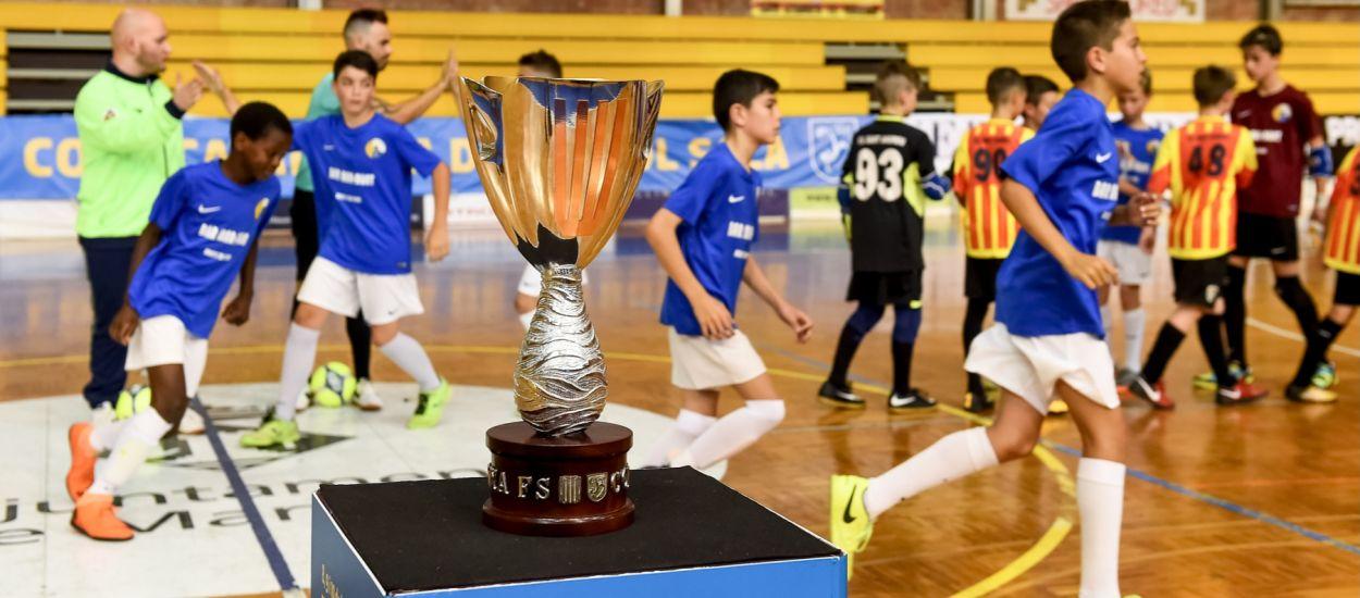 Les delegacions territorials s'incorporen a la Copa Catalunya de Futbol Sala