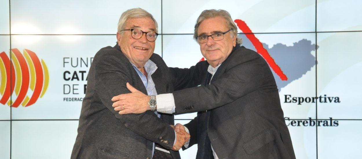 Conveni de col·laboració entre la Fundació Catalana de Futbol i l'FECPC