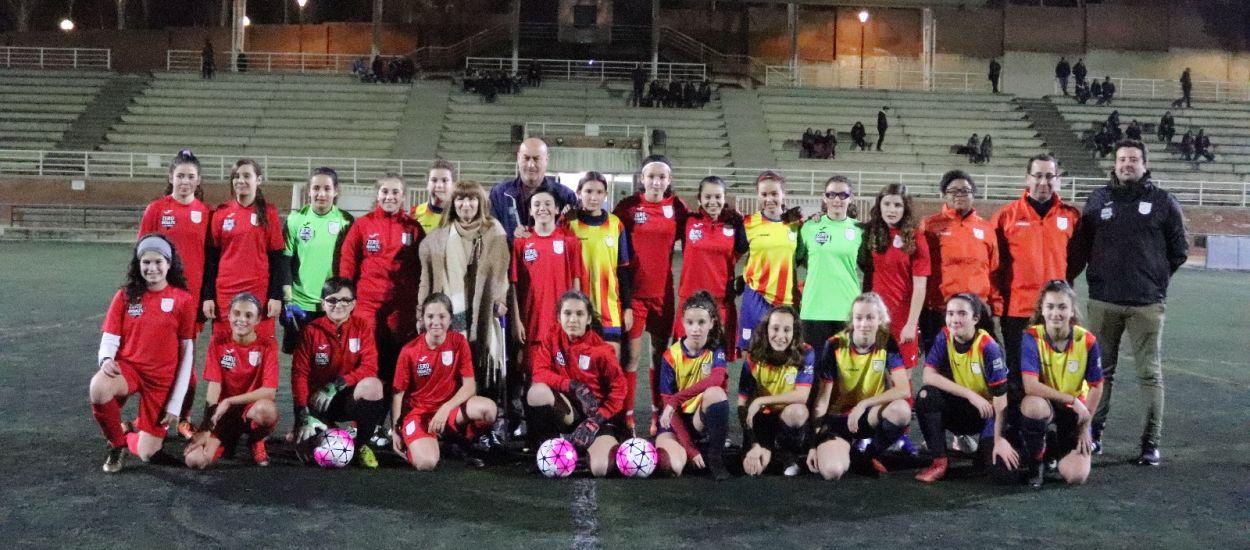 Entrenament de la selecció comarcal sub 14
