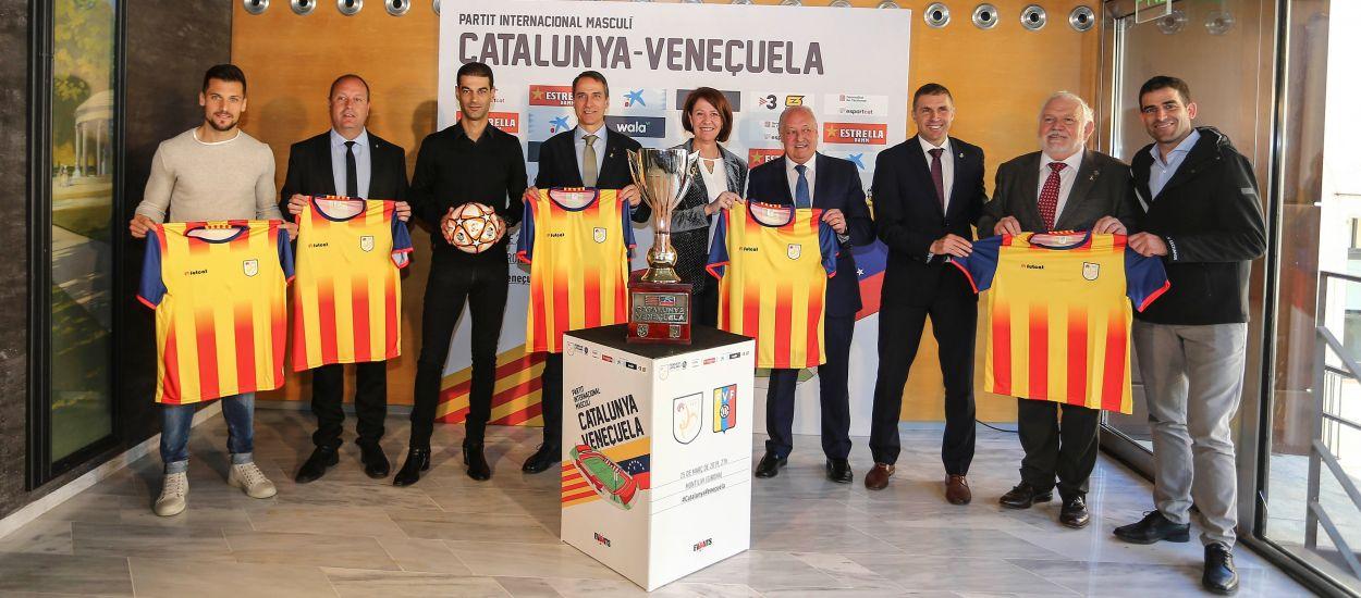 Girona acull amb il·lusió el Catalunya-Veneçuela