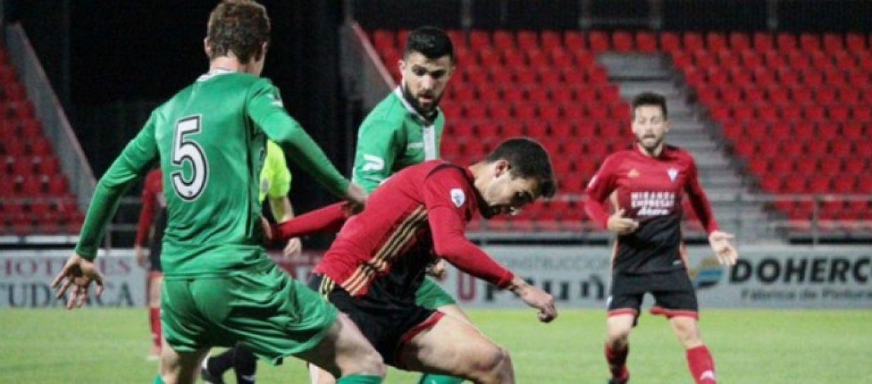 El Cornellà perd contra el Mirandés per 3 a 0 a la Copa RFEF