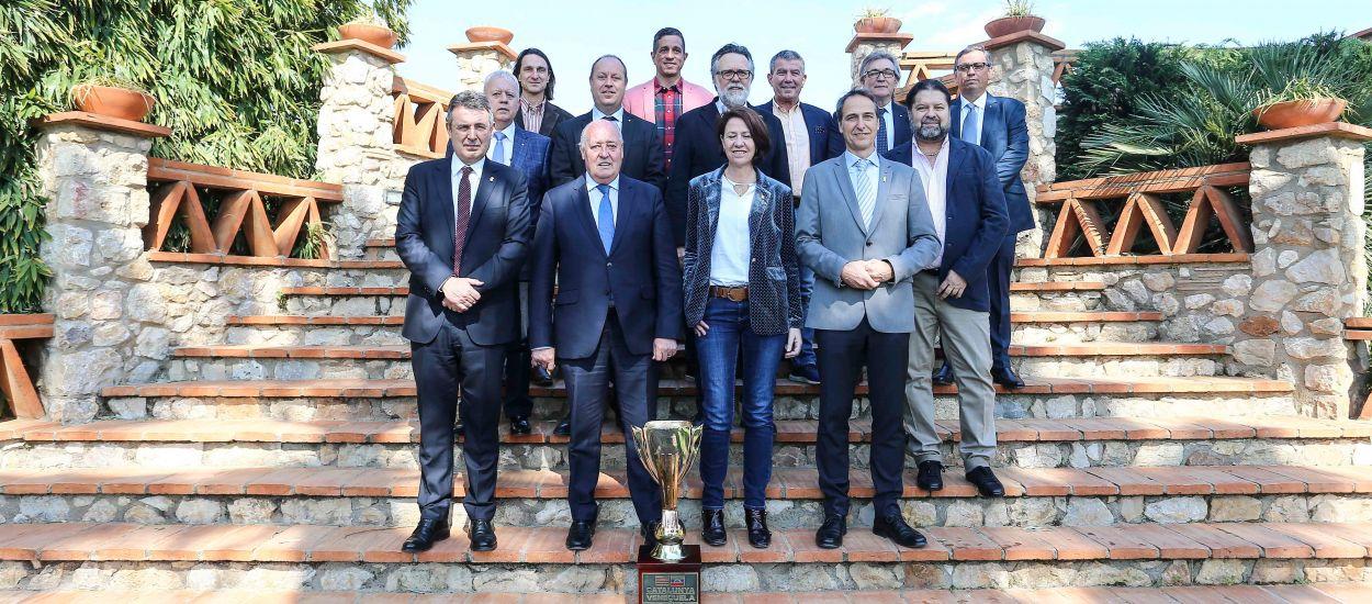 Dinar oficial del partit entre Catalunya i Veneçuela