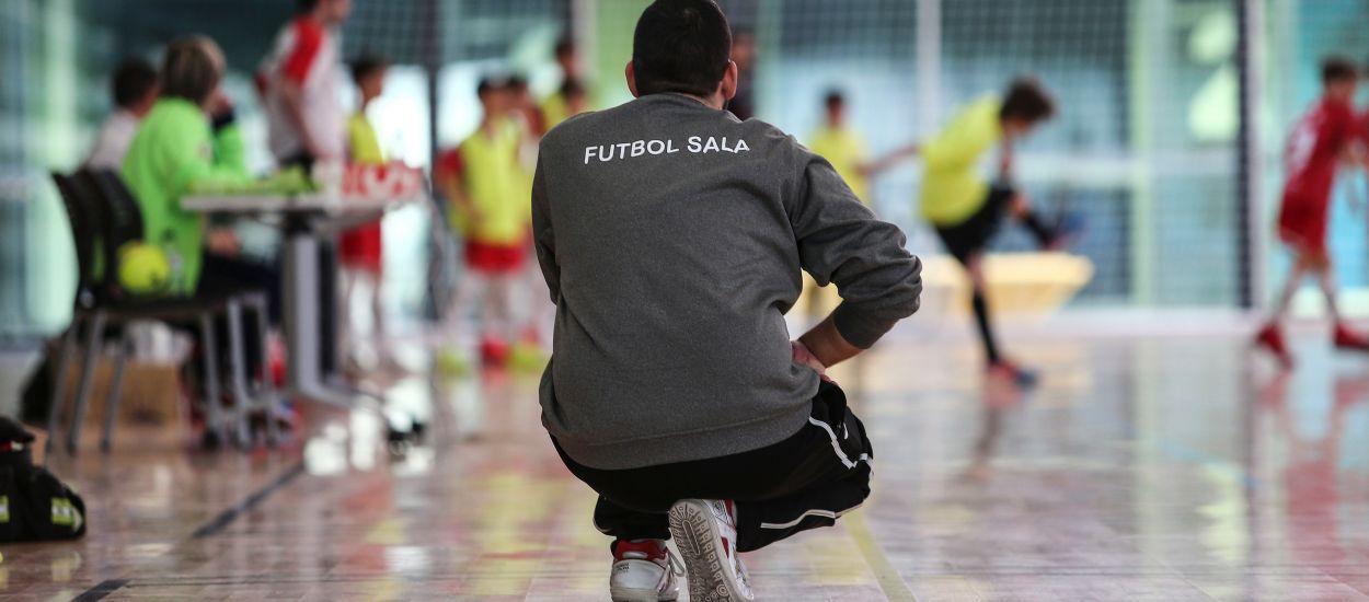 S'obre convocatòria per a tres nous Cursos de Coordinador de Futbol Sala fins a final de temporada