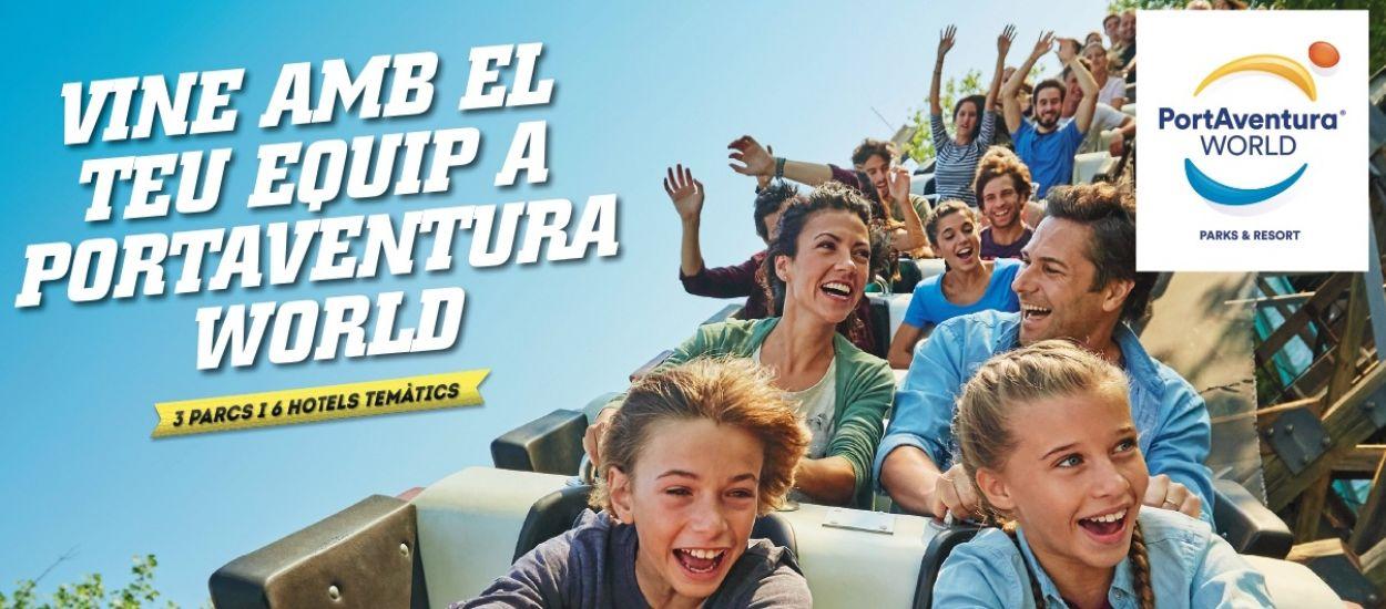 Gaudeix de PortAventura World amb el teu club