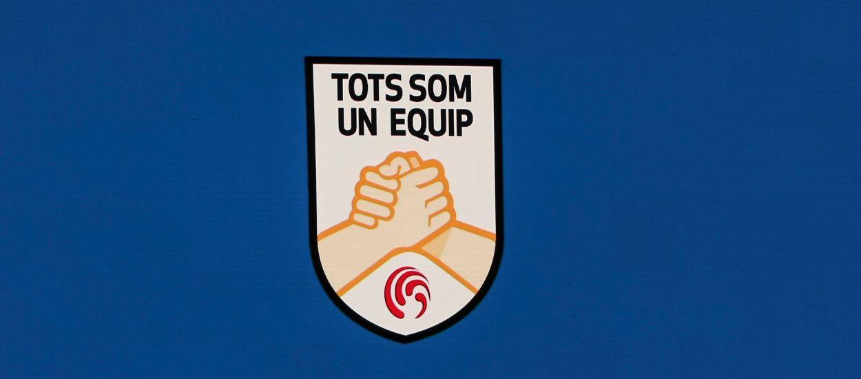 Els valors, el joc net i el futbol com a nexe d'unió, l'esperit de la campanya 'Tots som un equip'