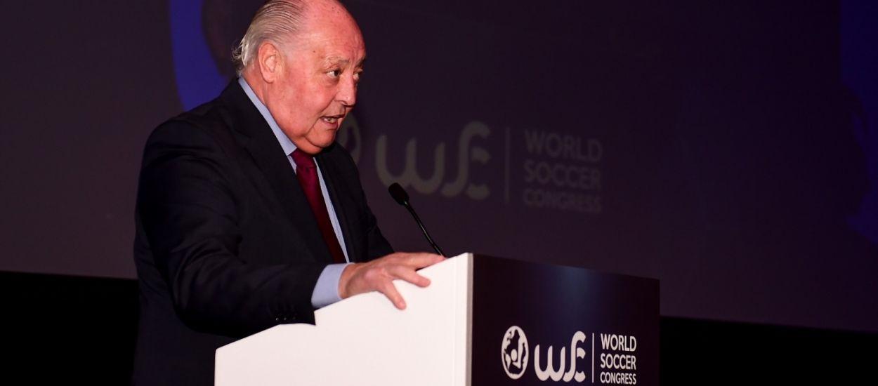 El president de l'FCF inaugura el World Soccer Congress