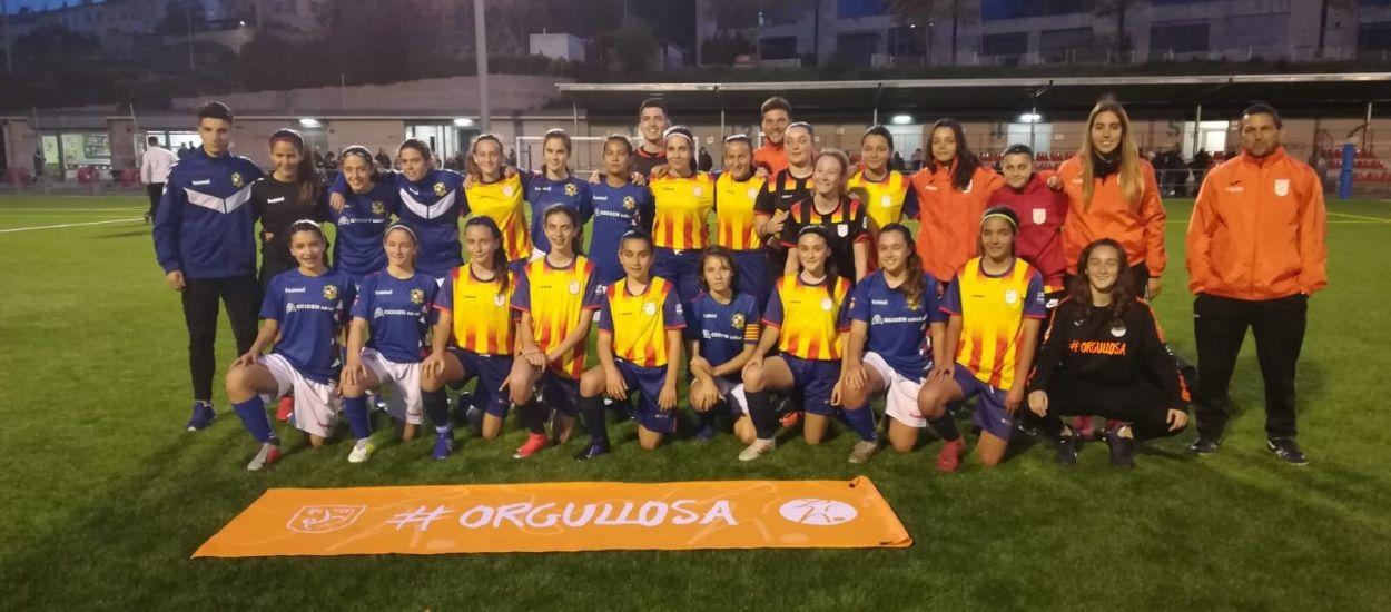 Amistós de la selecció femenina sub 14 del Vallès Oriental contra el Sant Gabriel