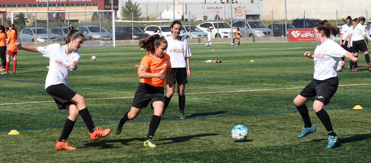 El creixement de la Jornada de Futbol Femení