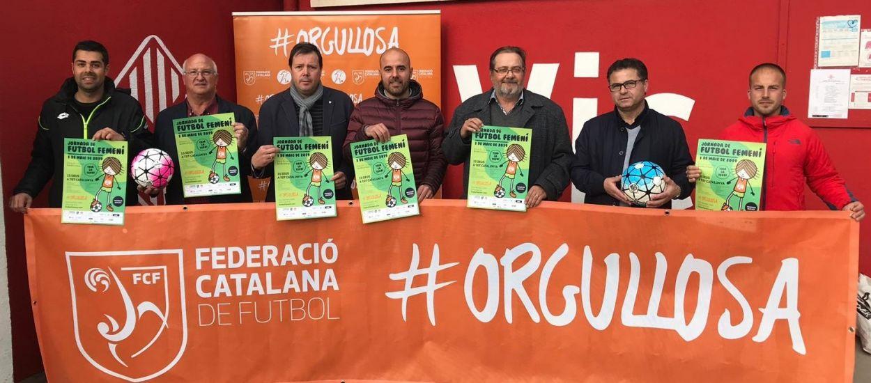 Presentada la Jornada de Futbol Femení a Osona