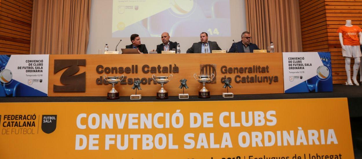 Convocatòria de la 8a Convenció de Clubs de Futbol Sala