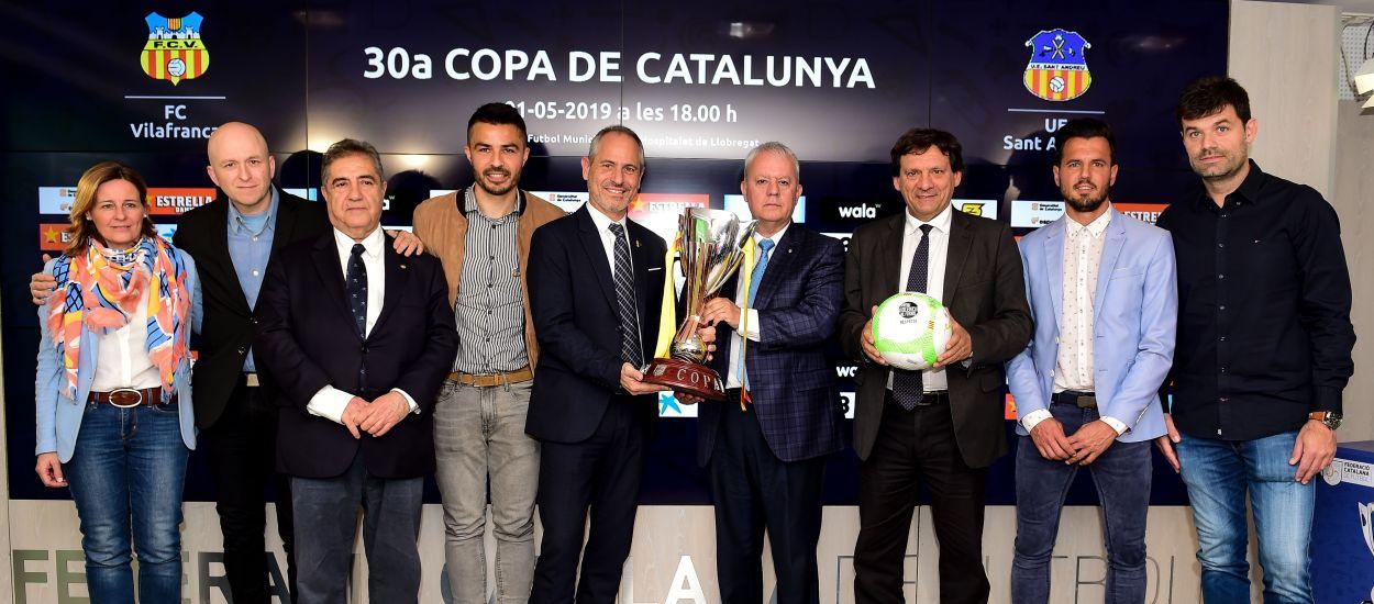 Presentada la final de la 30a Copa Catalunya Absoluta