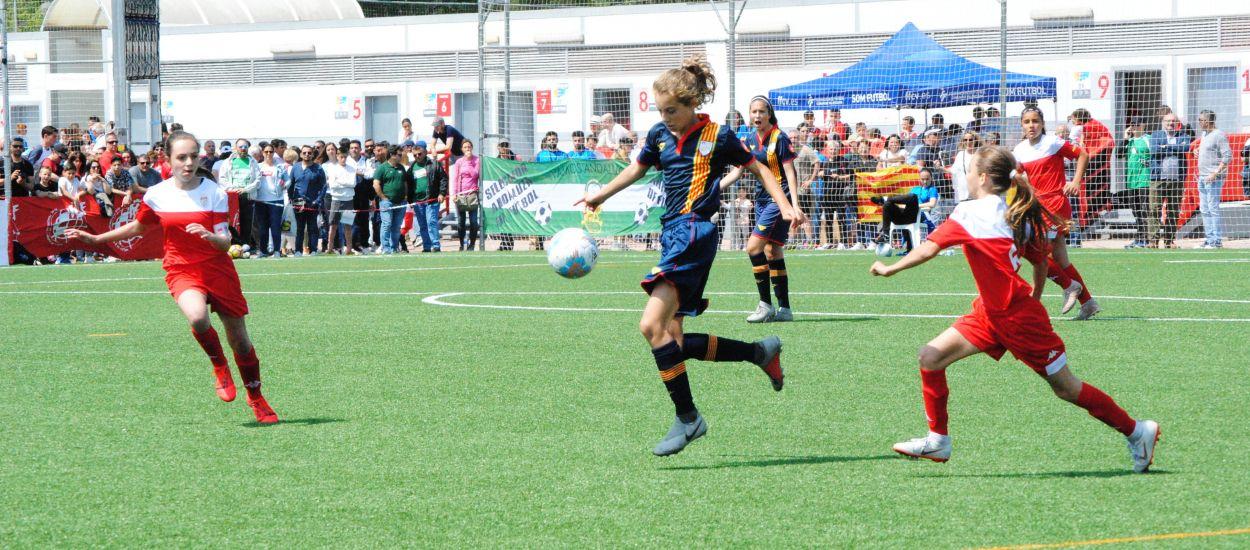 Meritori empat de la sub 12 femenina davant Madrid