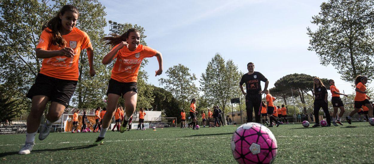 Nou èxit de la Jornada de Futbol Femení