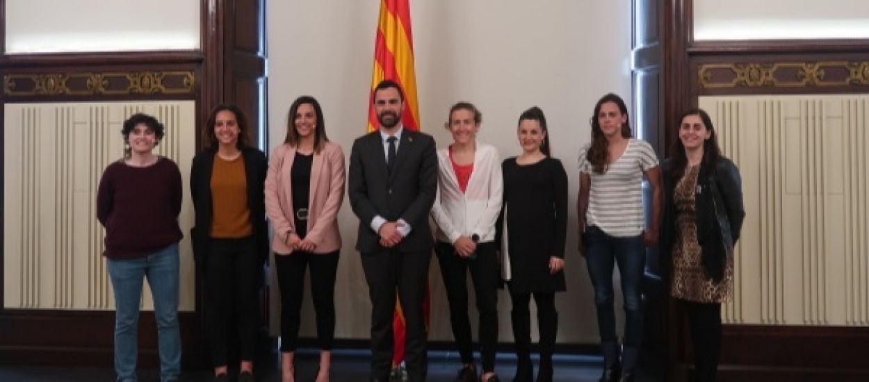 Representació federativa a la ponència sobre esport femení al Parlament