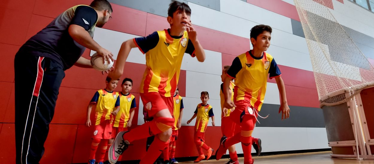 Arrenca l'aventura del futur del futbol sala català