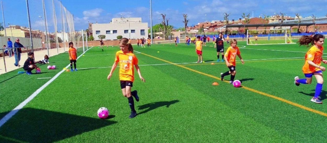 III Jornada de Tecnificació de Futbol Femení a Riudoms