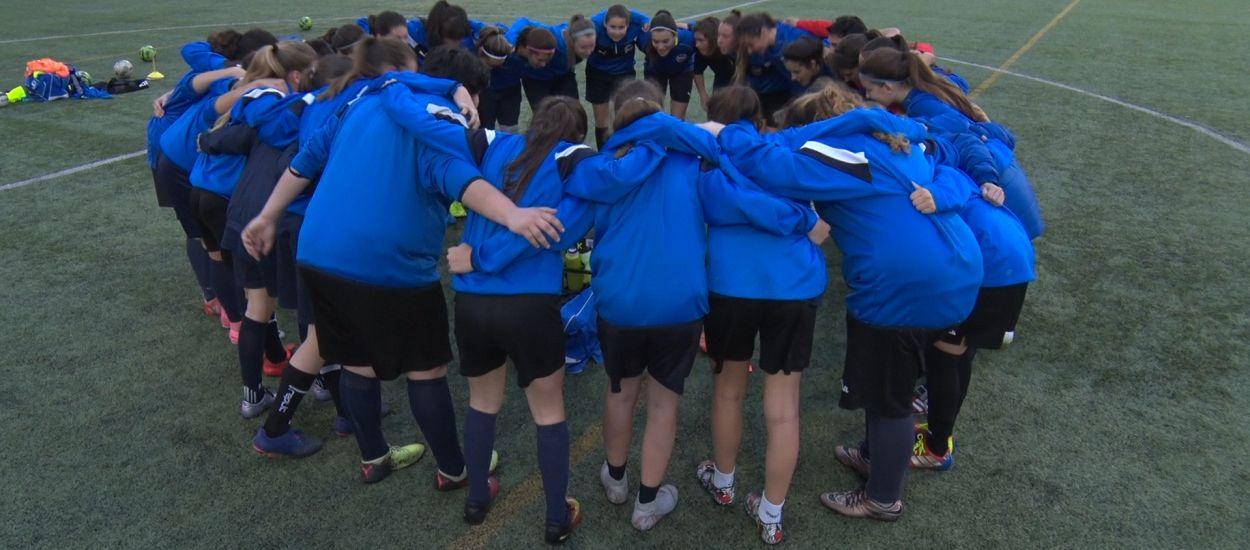 El CFB Marc Bartra, sacrifici i passió per ajudar a créixer el futbol femení