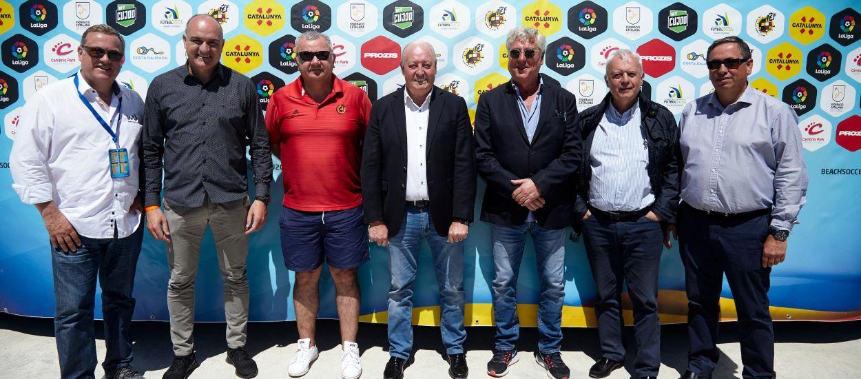 L'FCF, representada al Classificatori Europeu de futbol platja disputat a Salou